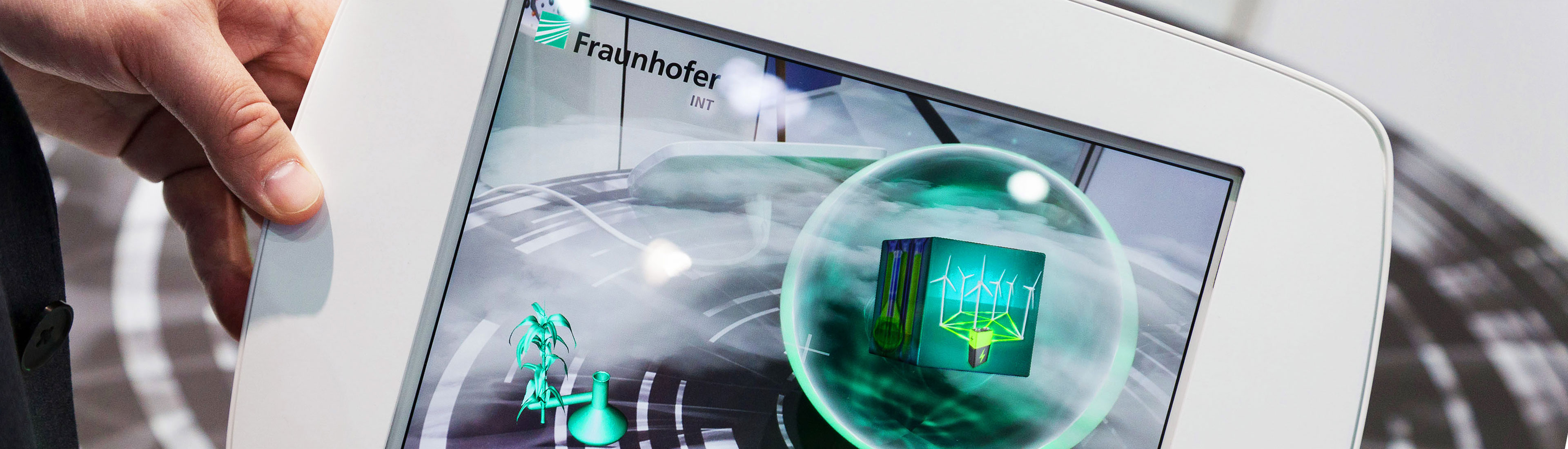 Fraunhofer Institut – Augmented Reality Exponat