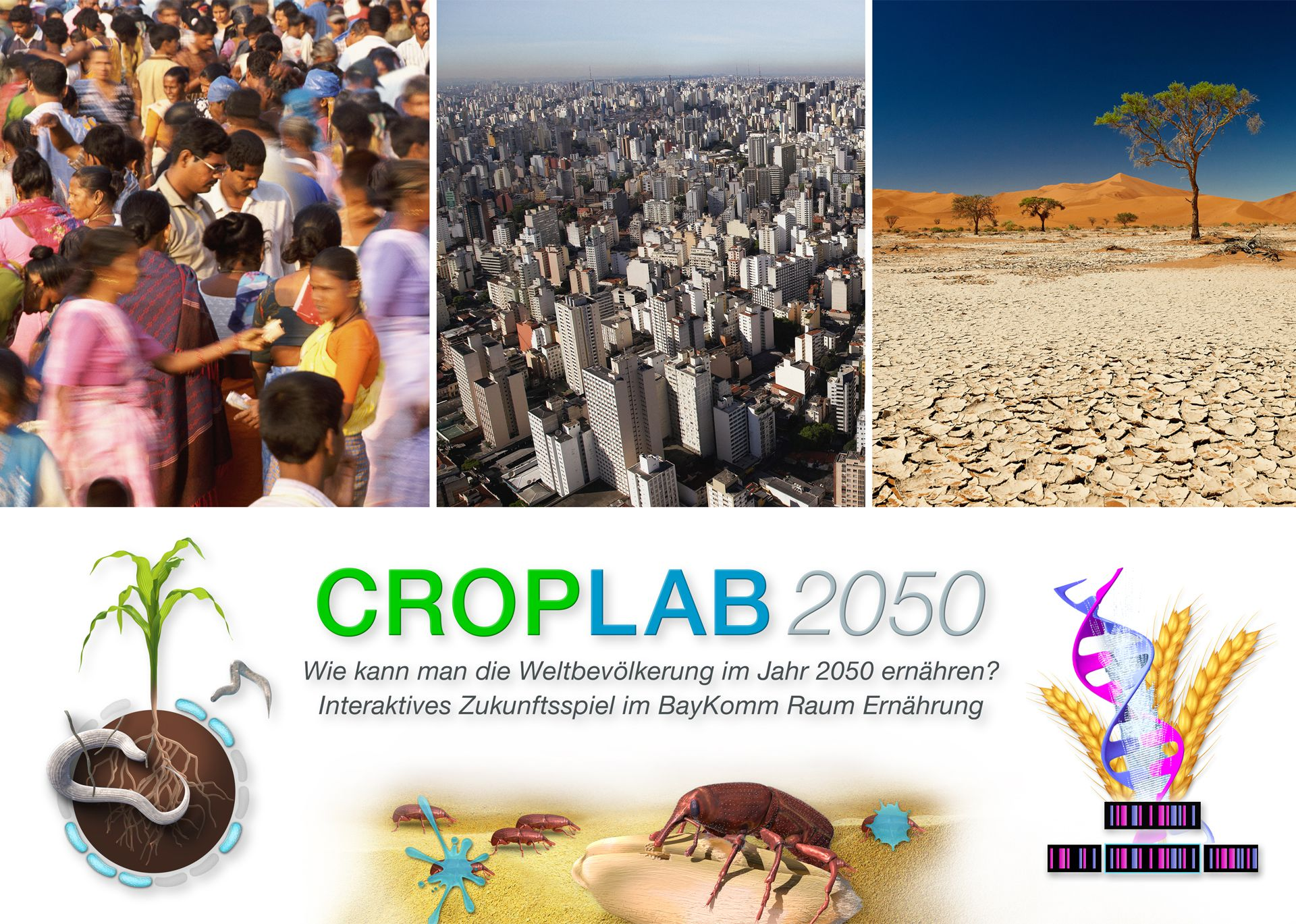 Bayer CropScience - CROPLAB 2050 - Interaktives Spiel