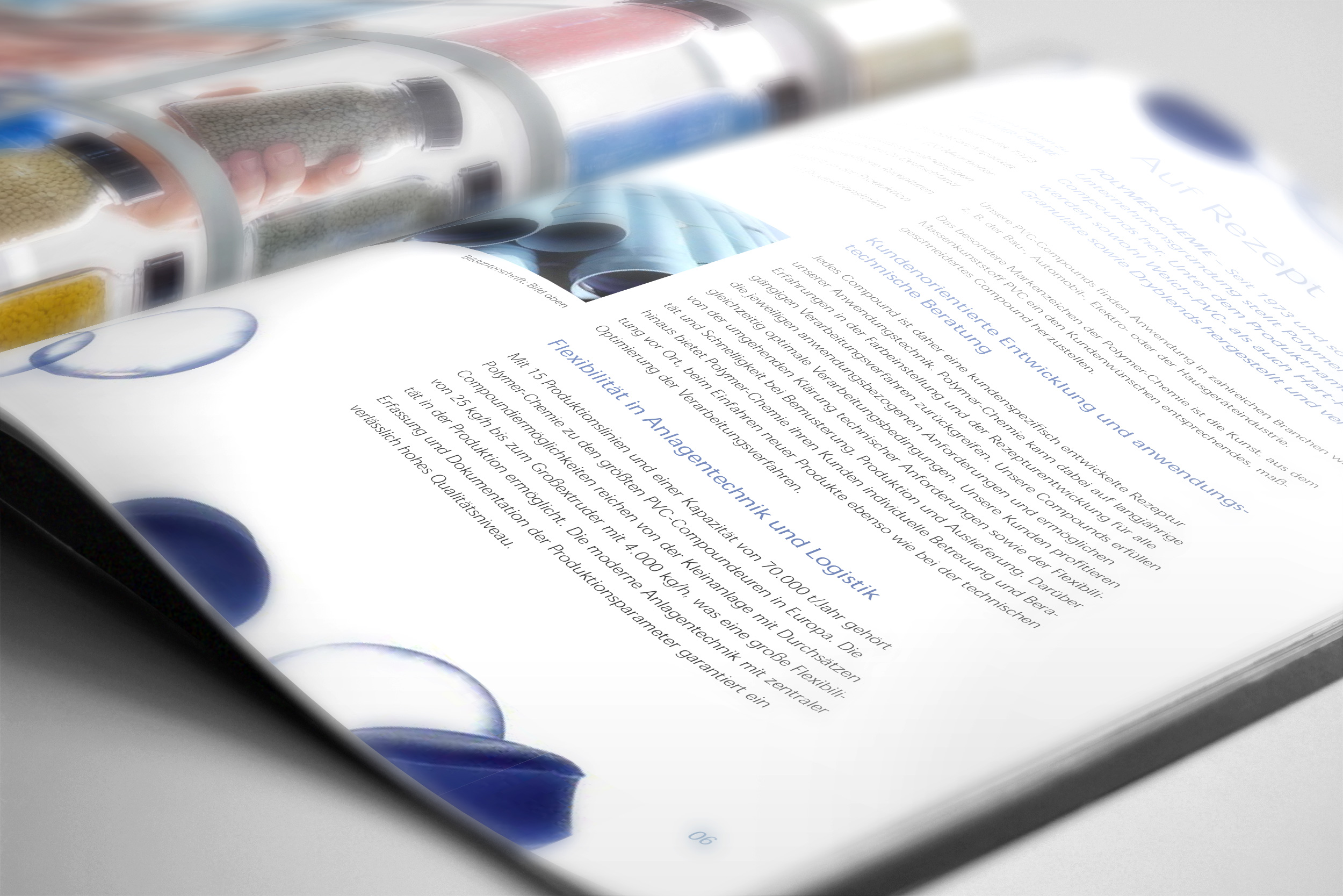 Polymer Chemie - Corporate Design