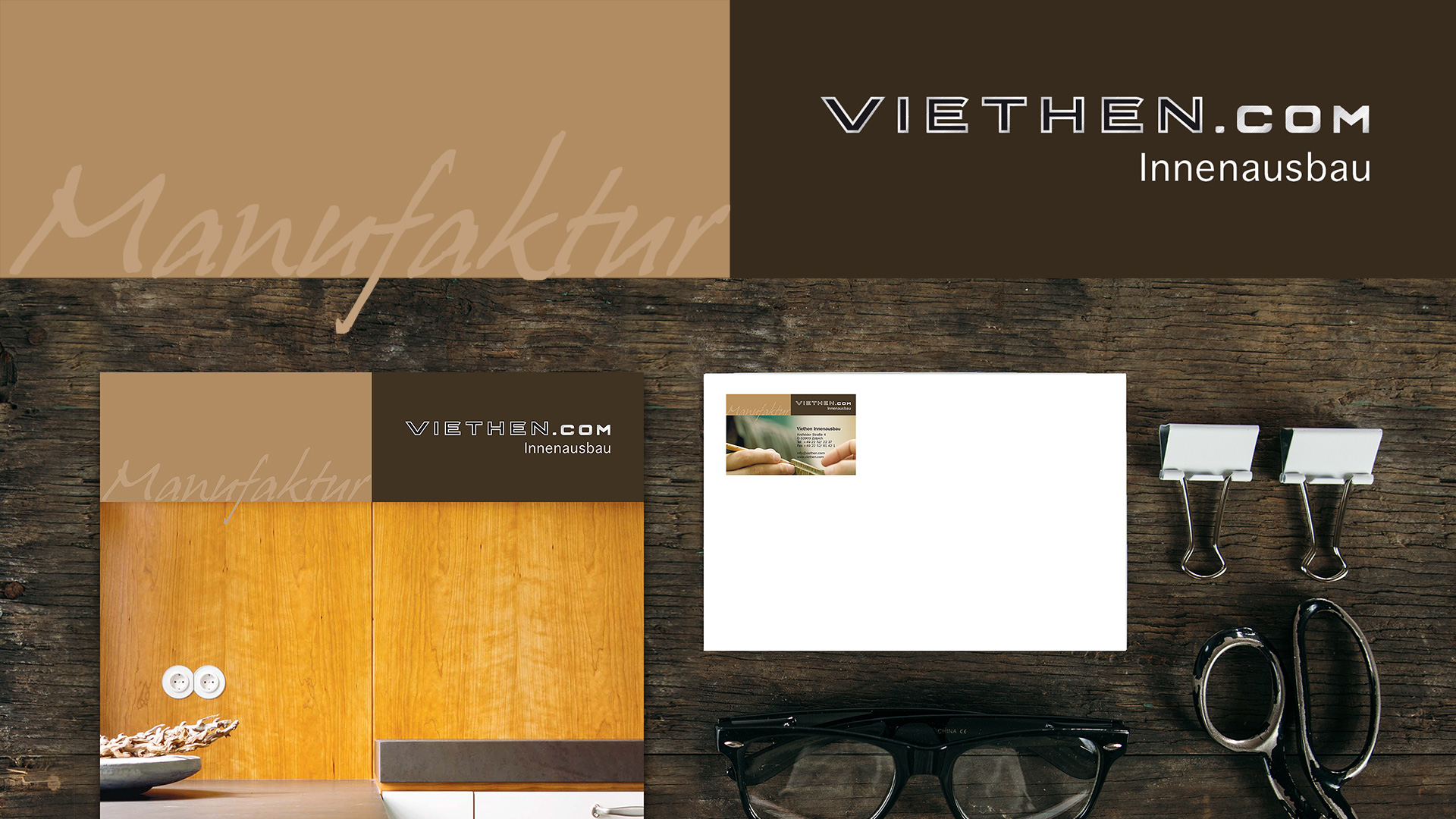 Manufaktur Viethen – Corporate Design